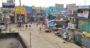 जहानाबाद : प्रतिमा विसर्जन के दौरान धार्मिक स्थल के समीप हुई पत्थरबाजी