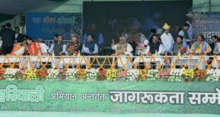 मुजफ्फरपुर : जल और हरियाली से ही जीवन सुरक्षित है – मुख्यमंत्री
