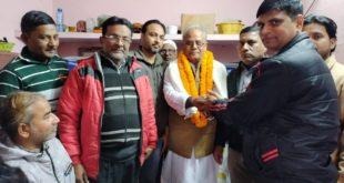गिरिराज सिंह को इंडियन जर्नलिस्ट एसोसिएशन पूर्वांचल का सर्वसम्मति से प्रदेश अध्यक्ष का चुना गया
